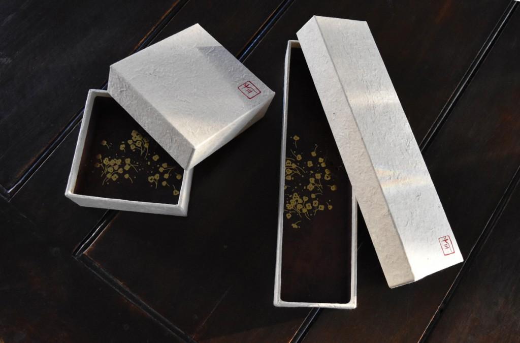 ロクタ紙の箱